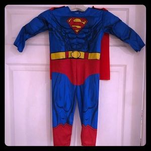 SuperMan Costume Toddler 2T-3T
